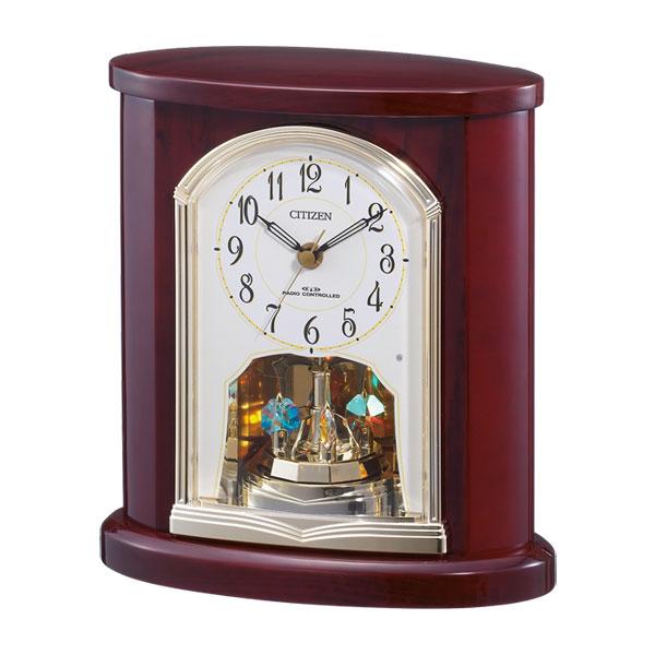 「スーパーセールポイント5倍」シチズン 置き時計 CITIZEN 電波時計 4RY681-N06 電波置時計 文字入れ対応、有料 取り寄せ品