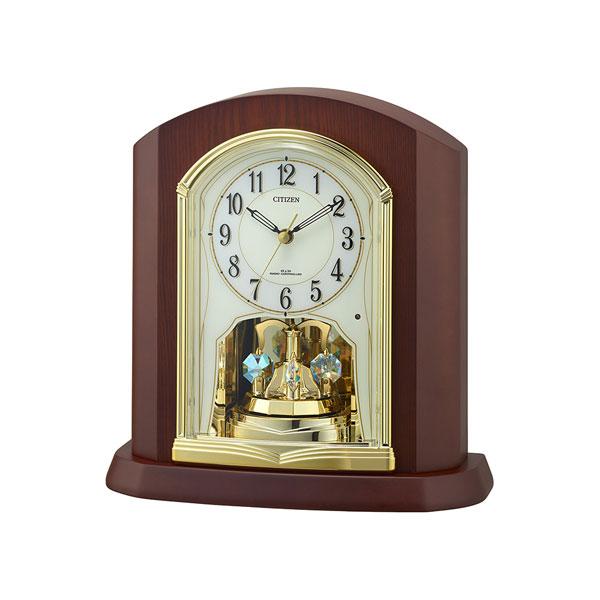 「スーパーセールポイント5倍」シチズン 置き時計 CITIZEN 電波時計 4RY702-N06 電波置時計 文字入れ対応、有料 取り寄せ品