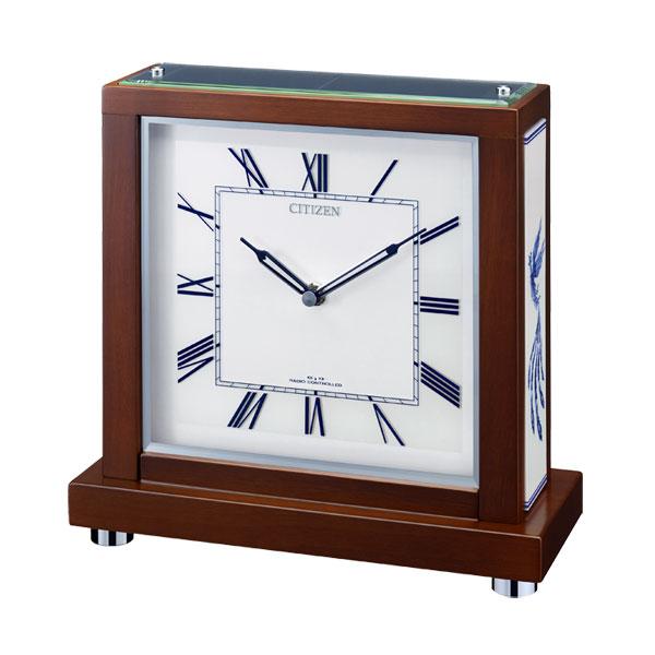 「スーパーセールポイント5倍」シチズン 置き時計 CITIZEN 電波時計 4RY713-006 電波置時計 文字入れ対応、有料 取り寄せ品