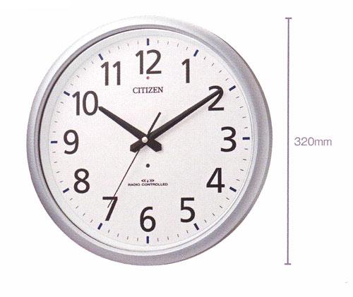 「スーパーセールポイント5倍」壁掛け時計 シチズン 電波時計 ネムリーナアクア493 掛時計 8MY493-019 文字入れ対応《有料》 取り寄せ品