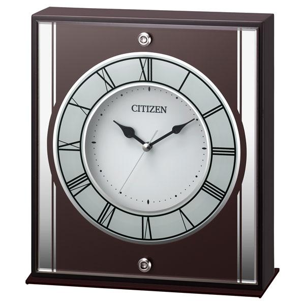 「スーパーセールポイント5倍」置き時計 CITIZEN シチズン 8RG622-006 置時計 文字入れ対応、有料 取り寄せ品