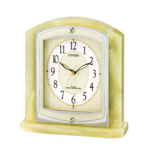 激安通販の 置き時計 シチズン 電波時計 CITIZEN 電波 電波 置時計 8RY400-005 電波時計 8RY400-005 記念品に文字 名入れ対応《有料》 取り寄せ品, 幸せアイテム 美来:36b854bd --- canoncity.azurewebsites.net
