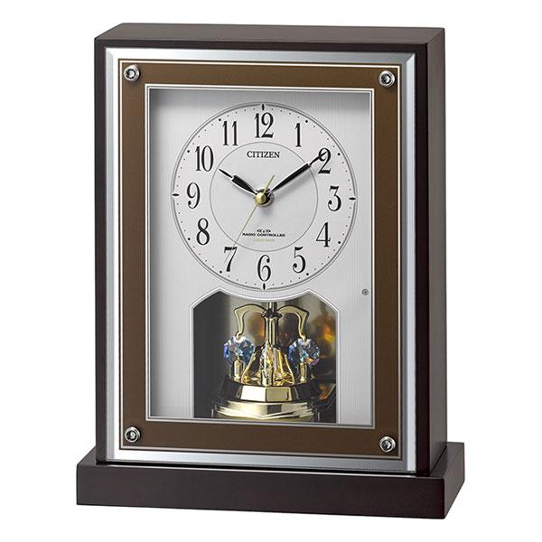 置き時計 シチズン 電波時計 CITIZEN 電波 置時計 8RY413-006 名入れ対応、有料 取り寄せ品