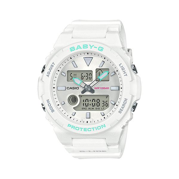 「マラソンポイント5倍」カシオ ベビーG BAX-100-7AJF 女性用腕時計 CASIO Baby-G 国内正規品 取り寄せ品