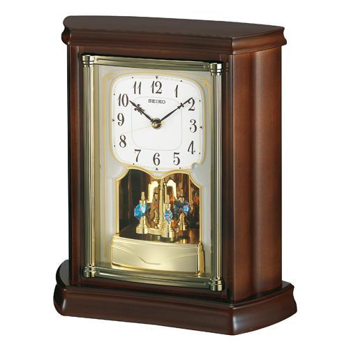 返品不可 セイコー 電波時計 木枠 [ギフト/プレゼント/ご褒美] 置き時計 取り寄せ品 BY233B 文字名入れ対応《有料》 SEIKO