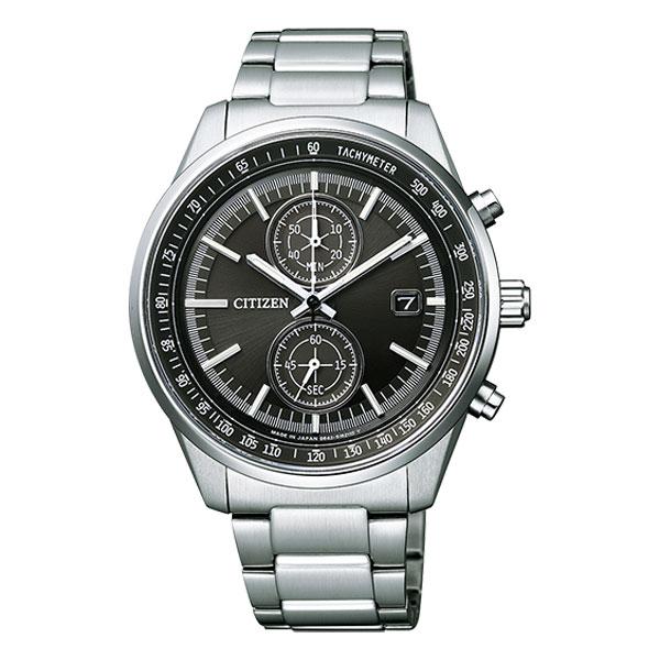 「マラソンポイント5倍」シチズン ソーラー 腕時計 メンズ クロノグラフ CA7030-97E 名入れ刻印対応、有料 取り寄せ品【ed7k】