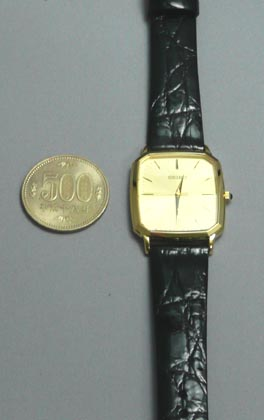 """Seiko dress watch Dolce men's watch SACM154 ' name put like the engraved gift Turkey aware """"paid."""" ' products ordered"""