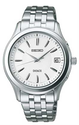 セイコー SEIKO DOLCE ソーラー電波時計 ドルチェ 男性用 腕時計 メンズウオッチ SADZ123 刻印不可 取り寄せ品 【コンビニ受取対応商品】