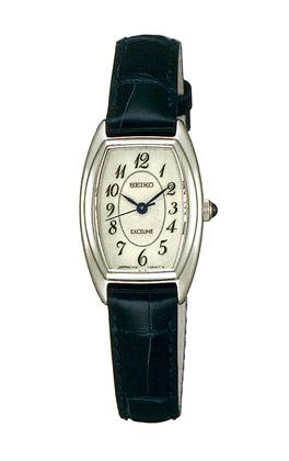 「マラソンポイント5倍」セイコー SEIKO 女性用腕時計 SWDB063 革バンド 婦人用 レディース ドレスウォッチ エクセリーヌ EXCELINE 名入れ刻印対応《有料》 取り寄せ品 【コンビニ受取対応商品】
