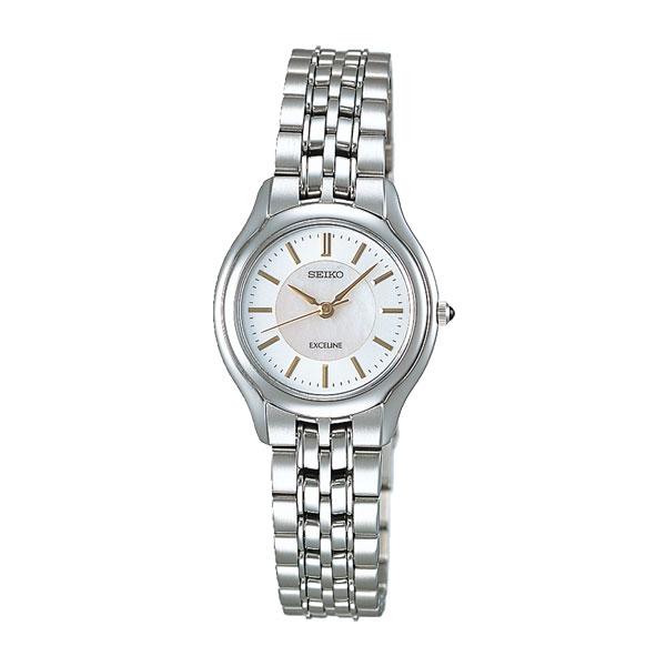 「マラソンポイント5倍」セイコー SEIKO 女性用腕時計 婦人用 SWDL099 レディースウオッチ エクセリーヌ EXCELINE 名入れ刻印対応《有料》 取り寄せ品 【コンビニ受取対応商品】