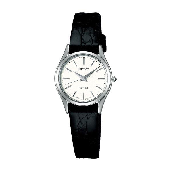 「マラソンポイント5倍」女性用腕時計 婦人用 SWDL209 セイコー SEIKO レディースウオッチ エクセリーヌ EXCELINE ドレスウォッチ 名入れ刻印対応《有料》 取り寄せ品 【コンビニ受取対応商品】