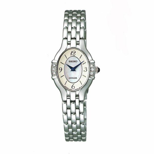 「マラソンポイント5倍」セイコー 女性用 腕時計 SWDX169 電池時計 SEIKO エクセリーヌ EXCELINE 名入れ刻印対応、有料 送料無料 取り寄せ品 【コンビニ受取対応商品】