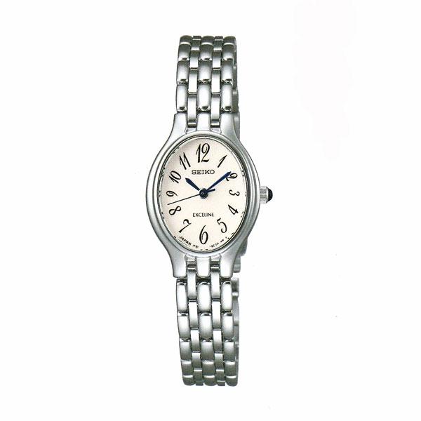 「マラソンポイント5倍」セイコー 女性用 腕時計 SWDX177 電池時計 SEIKO エクセリーヌ EXCELINE 名入れ刻印対応、有料 送料無料 取り寄せ品 【コンビニ受取対応商品】