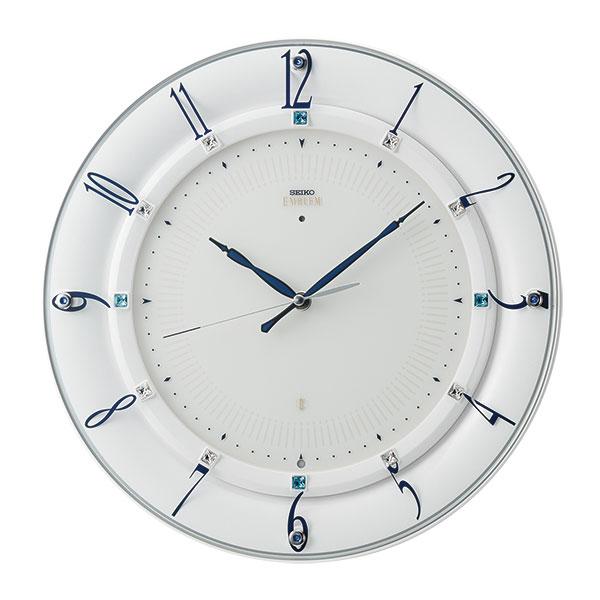 「スーパーセールポイント5倍」壁掛け時計 セイコー SEIKO 電波時計 エンブレム EMBLEM HS559W 取り寄せ品