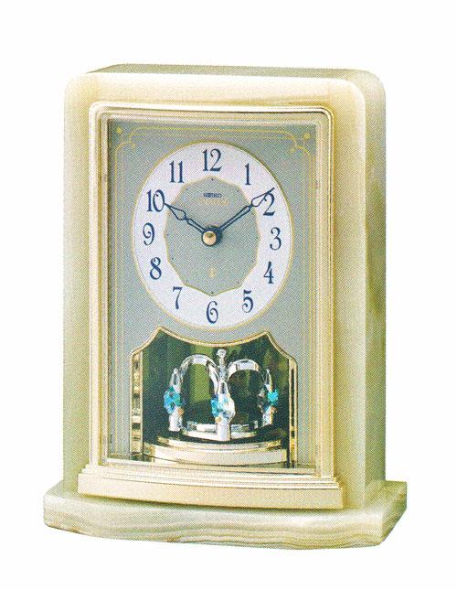 オニキス枠 エンブレム置き時計セイコー SEIKO EMBLEM 送料無料 HW465G 訳あり 文字入れ対応《有料》 取り寄せ品 全店販売中