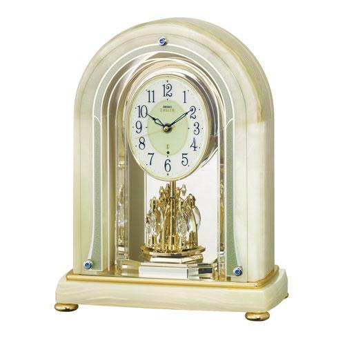 最高品質の オニキス枠 置き時計 セイコー SEIKO エンブレム電波時計 置き時計 セイコー 取り寄せ品 EMBLEM HW575M 文字入れ対応《有料》 送料無料 取り寄せ品, ボンペリエール:8756b3a1 --- bibliahebraica.com.br