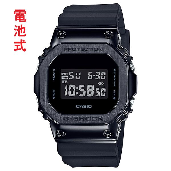 「マラソンポイント5倍」カシオ ジーショック 腕時計 CASIO G-SHOCK メンズ GM-5600B-1JF 国内正規品 名入れ刻印対応、有料 取り寄せ品