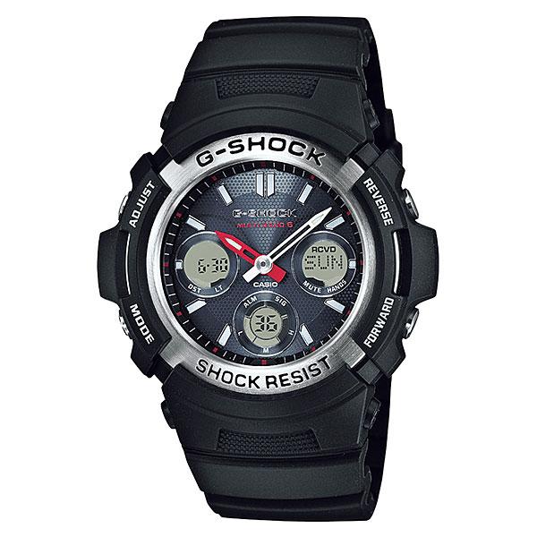 「マラソンポイント5倍」カシオ Gショックソーラー電波時計 AWG-M100-1AJF アナデジ メンズ腕時計 国内正規品 刻印対応、有料 取り寄せ品 【コンビニ受取対応商品】