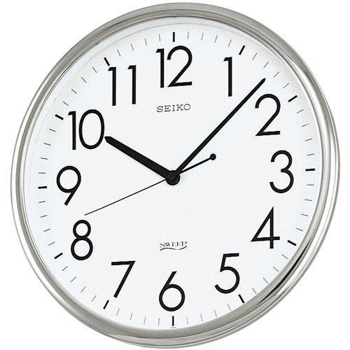 「スーパーセールポイント5倍」セイコー SEIKO 壁掛け時計 オフィスクロック KH220A スイープ 連続秒針 クオーツ時計 文字入れ対応、有料 取り寄せ品