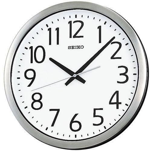 「スーパーセールポイント5倍」セイコー SEIKO 壁掛け時計 防湿防塵 KH406S スイープ 連続秒針 クオーツ時計 取り寄せ品