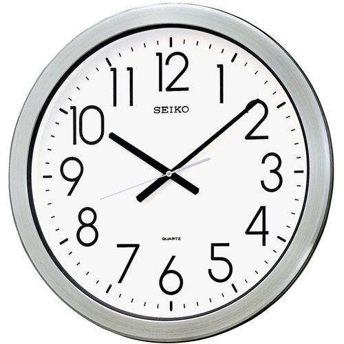 「20日21日限定ポイント5倍」セイコー SEIKO 壁掛け時計 防湿防塵 KH407S スイープ 連続秒針 クオーツ時計 取り寄せ品