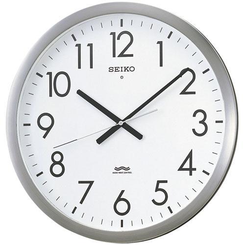 会社の時刻管理に セイコー電波時計 オフィスクロック かけ時計 KS266S 文字入れ対応《有料》 取り寄せ品