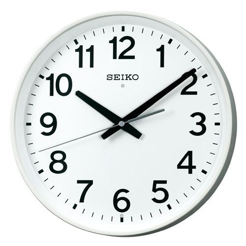 「スーパーセールポイント5倍」セイコー 電波時計 SEIKO 掛け時計 会社 オフィス 事務所 KX317W 文字入れ対応《有料》 取り寄せ品