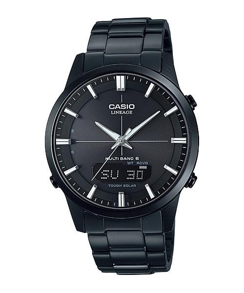「マラソンポイント5倍」ソーラー電波時計 メンズ 腕時計 CASIO カシオ リニエージ LCW-M170DB-1AJF 取り寄せ品 【コンビニ受取対応商品】