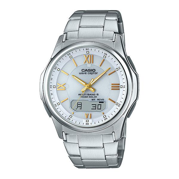 「マラソンポイント5倍」カシオ CASIO メンズ WVA-M630D-7A2JF ソーラー 電波時計 ウェーブセプター 男性用 腕時計 取り寄せ品 【コンビニ受取対応商品】