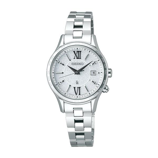 「マラソンポイント5倍」セイコー ルキア ソーラー電波時計 SSVV035 女性用 腕時計 レディースウオッチ SEIKO LUKIA 刻印対応、有料  取り寄せ品