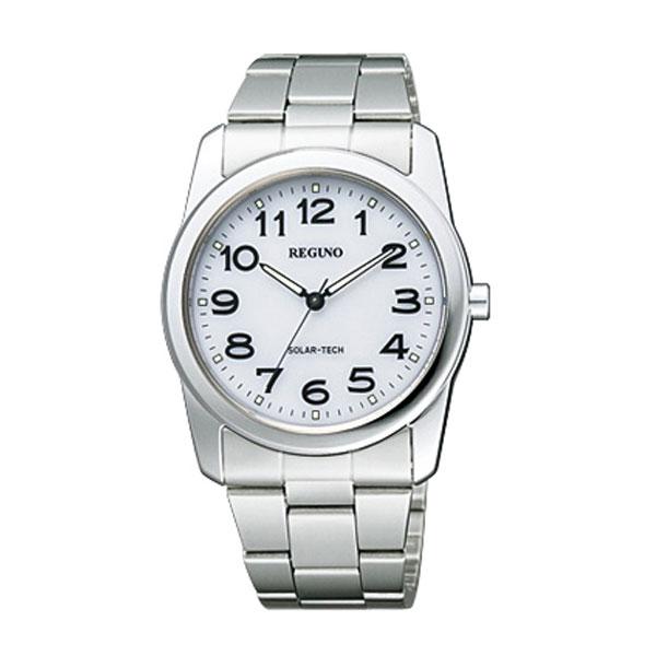 ソーラー シチズン RS25-0211A 夜光付き 男性用 メンズ 腕時計 紳士用 レグノ 名入れ刻印対応、有料  取り寄せ品