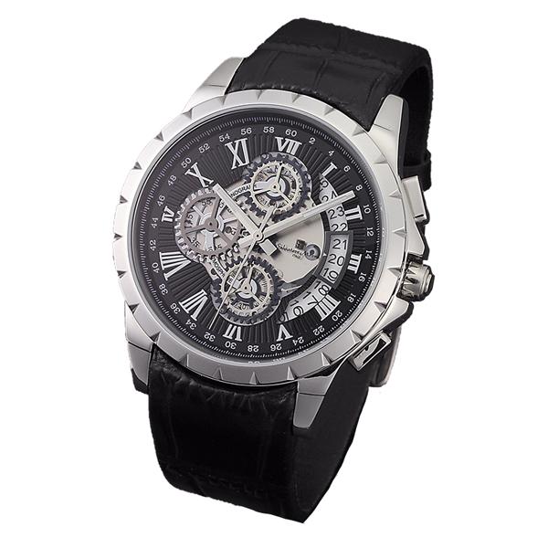 「マラソンポイント5倍」サルバトーレ・マーラ メンズ Salavatore Marra 腕時計 SM13119S-SSBK 取り寄せ品