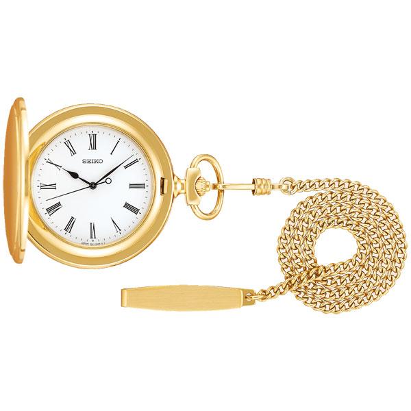 「マラソンポイント5倍」セイコー SEIKO ふたつきの懐中時計 SAPQ008 ポケットウオッチ 取り寄せ品