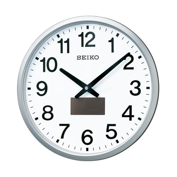 「20日21日限定ポイント5倍」セイコー SEIKO ハイブリッドソーラー電波時計 壁掛け時計 SF242S 文字入れ対応、有料 取り寄せ品