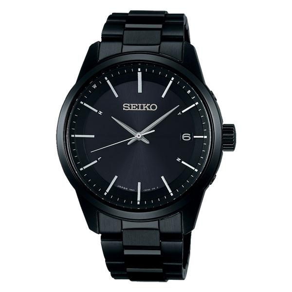 「マラソンポイント5倍」セイコー ソーラー電波時計 SBTM257 男性用 メンズ 腕時計 SEIKO 名入れ刻印対応、有料 取り寄せ品