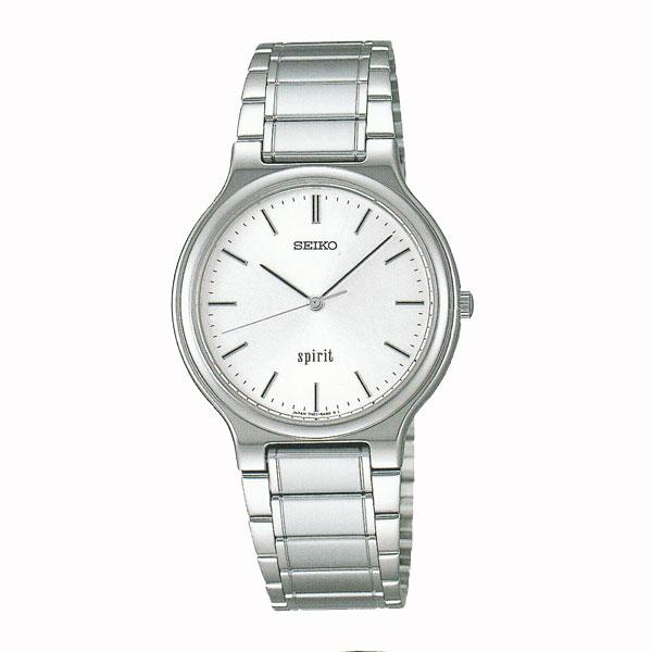 「マラソンポイント5倍」セイコーSCDP003 男性用腕時計スピリット 電池時計 名入れ刻印対応、有料 取り寄せ品 【コンビニ受取対応商品】