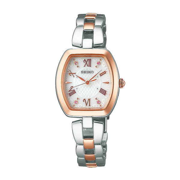 「マラソンポイント5倍」セイコー ソーラー電波時計 SWFH098 レディース ウオッチ SEIKO 女性用 腕時計 刻印対応、有料 取り寄せ品