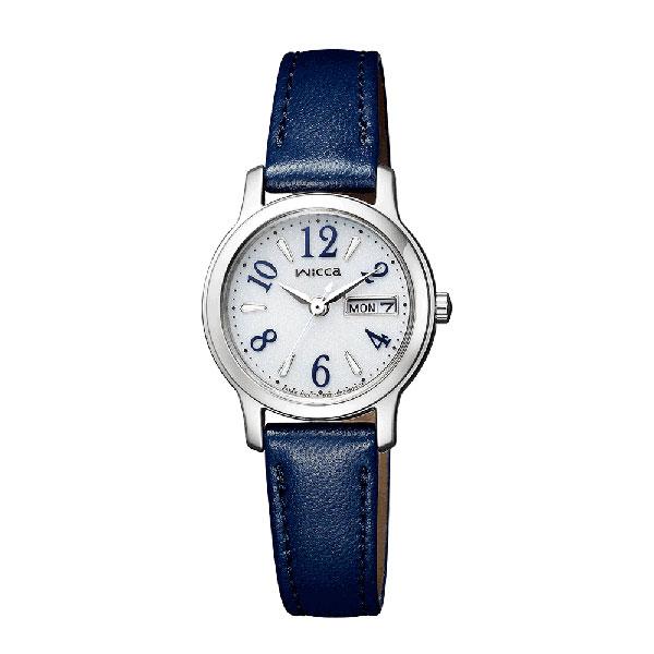 「マラソンポイント5倍」ソーラー時計 女性用腕時計 CITIZEN Wicca シチズン ウィッカ KH3-410-10 取り寄せ品
