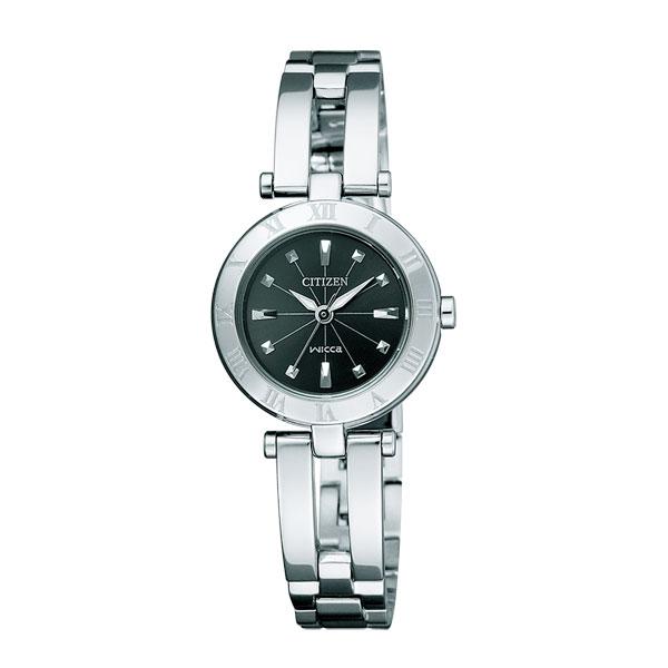 「マラソンポイント5倍」ソーラー 女性用 腕時計 シチズン CITIZEN Wicca ウィッカ NA15-1571C エコドライブ 取り寄せ品 【コンビニ受取対応商品】