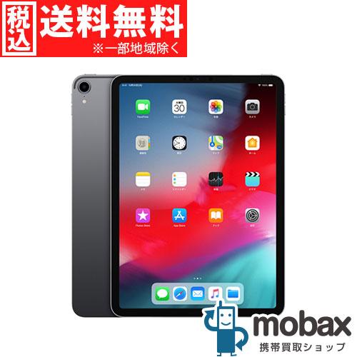 ◆ポイントUP◆《SIMロック解除済》※〇判定【新品未使用】 2018年版 au iPad Pro 11インチ Wi-Fi + Cellular 64GB [スペースグレイ] MU0M2J/A(SIMフリー)