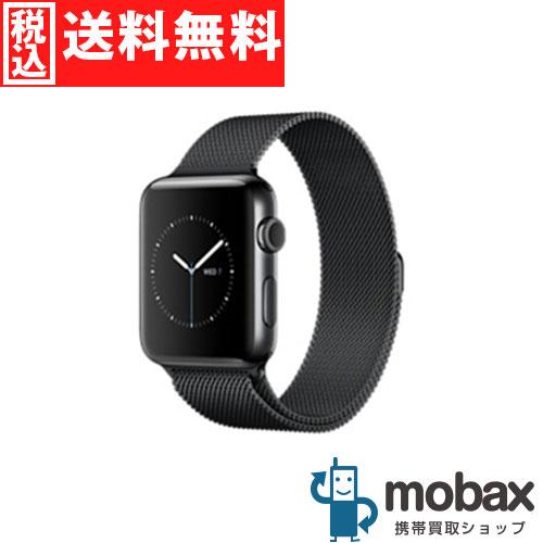 ◆5%還元対象◆【新品未開封品(未使用)】 Apple Watch Series 2 42mm(GPSモデル)MNU92J/A [スペースブラックステンレススチールケース/スペースブラックミラネーゼループ]