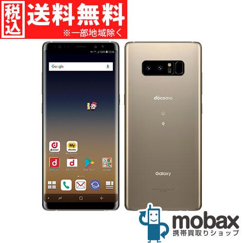 ◆5%還元対象◆《SIMロック解除済》※判定〇【新品未使用】 docomo Galaxy Note8 SC-01K [メープルゴールド] 白ロム(SIMフリー)