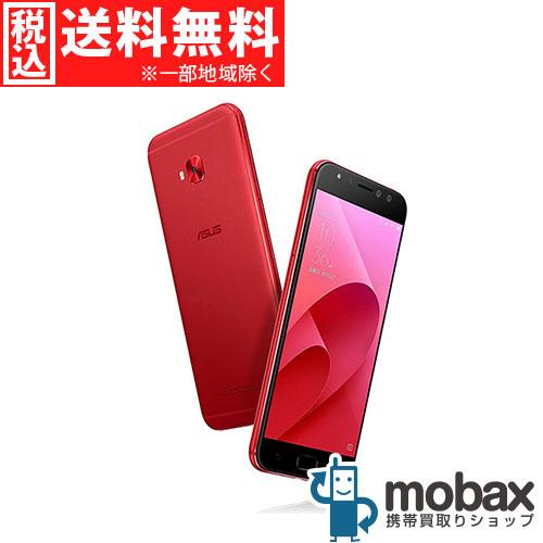 ◆ポイントUP◆《国内版SIMフリー》【新品未開封品(未使用)】ASUS ZenFone 4 Selfie Pro [クラシックレッド] 白ロム ZD552KL-RD64S4