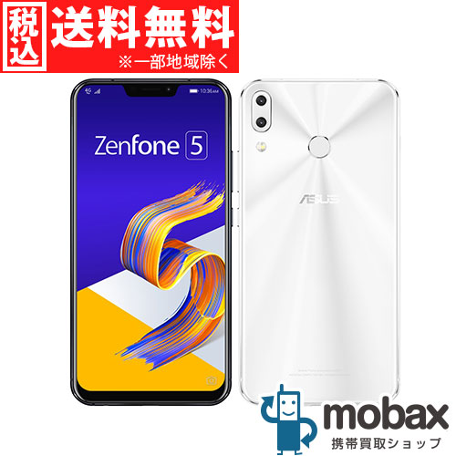◆ポイントUP◆※保証書未記入《版SIMフリー》【新品未使用】ASUS ZenFone 5 ZE620KL [ムーンライトホワイト] 白ロム ZE620KL-WH64S6