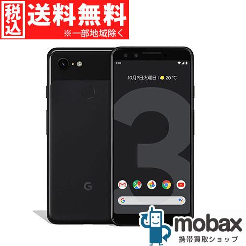 ◆ポイントUP◆《SIMロック解除済》※〇判定【新品未使用】SoftBank Pixel 3 64GB [ジャストブラック] Google G013B Android(SIMフリー)