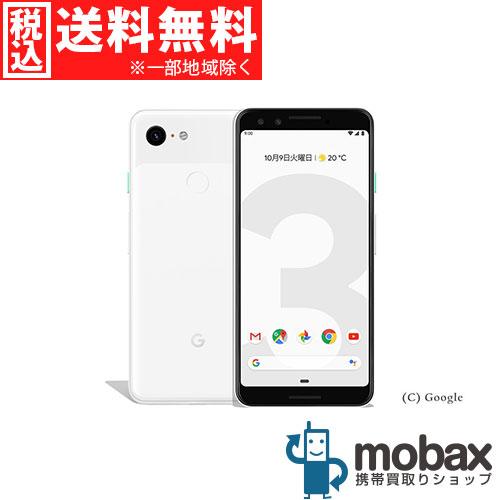 ◆ポイントUP◆《SIMロック解除済》※〇判定【新品未使用】SoftBank Pixel 3 64GB [クリアリーホワイト] Google G013B Android(SIMフリー)