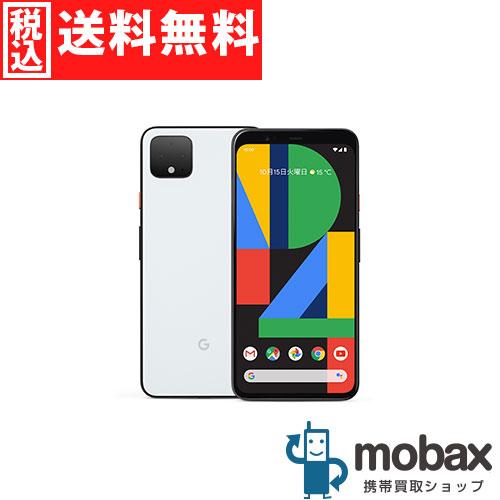 ◆5%還元対象◆《SIMロック解除済》※本体のみ※判定〇【超美品】【中古】 SoftBank Pixel 4 64GB [クリアリーホワイト] Google G020N Android(SIMフリー)グーグル