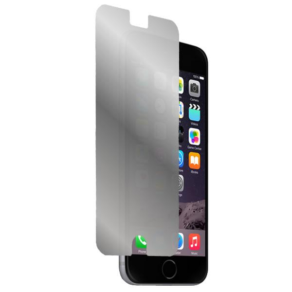 鏡に変わる ハーフミラー 防指紋タイプ 送料無料 iPhone 新作 6 Plus 高品質 5.5インチ 用 防指紋 液晶保護フィルム モバイルマスター_液晶シート 画面保護シート 画面フィルム ハーフミラータイプ 携帯電話 スマートフォン スマホ Apple タブレット