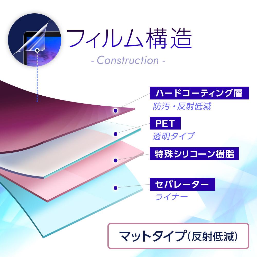 マットバブルレス液晶保護フィルムOLYMPUS Voice-Trek DM-720用 ★