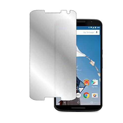 鏡に変わる ハーフミラー 防指紋タイプ 送料無料 Y mobile Google Nexus 6 用 防指紋 スマホ ハーフミラータイプ 発売モデル 正規激安 携帯電話 タブレット スマートフォン 画面フィルム ワイモバイル 液晶保護フィルム 画面保護シート モバイルマスター_液晶シート